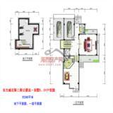 公爵岛·别墅E、Ef地下、一层平面户型图